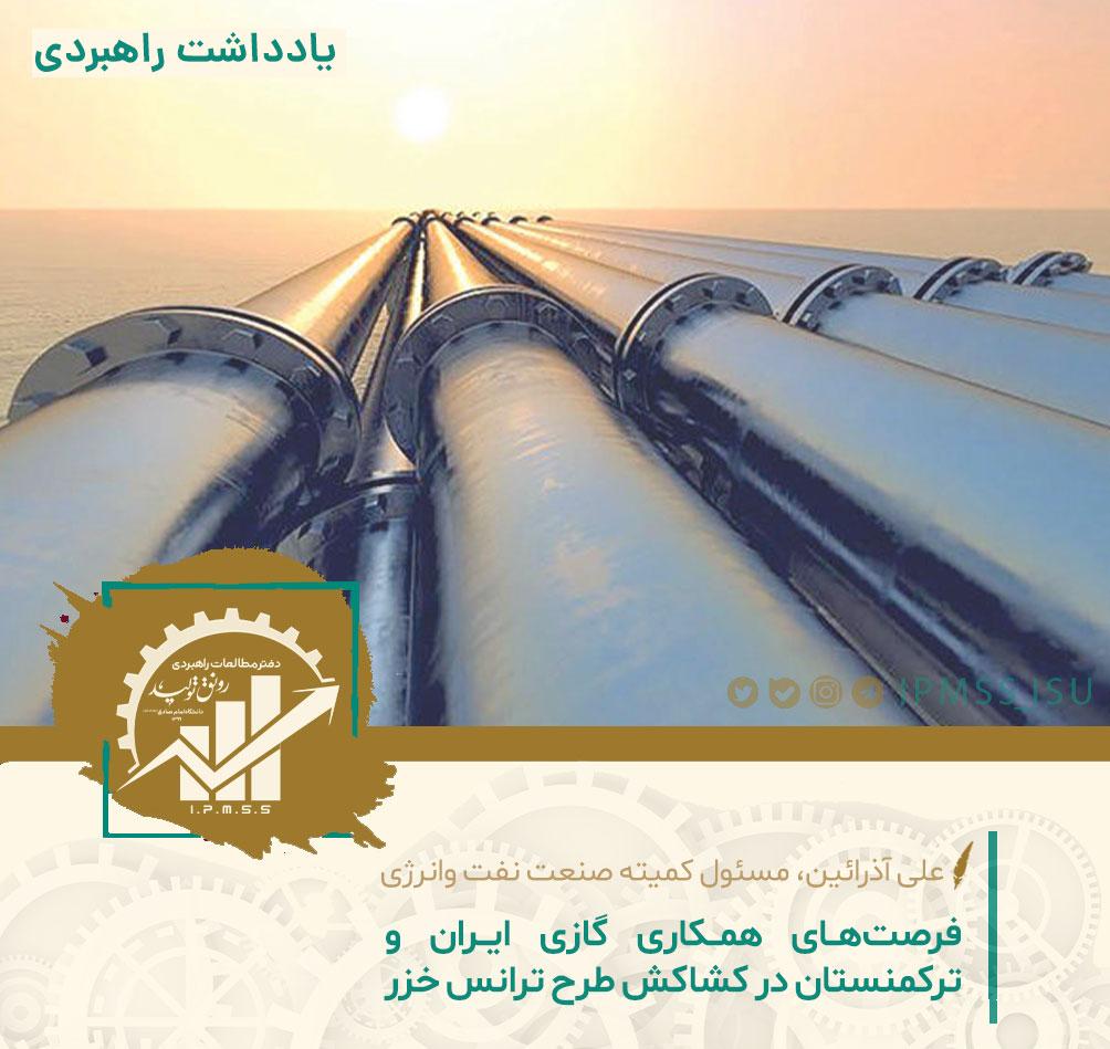 راهبرد گازی تهران در قبال عشقآباد